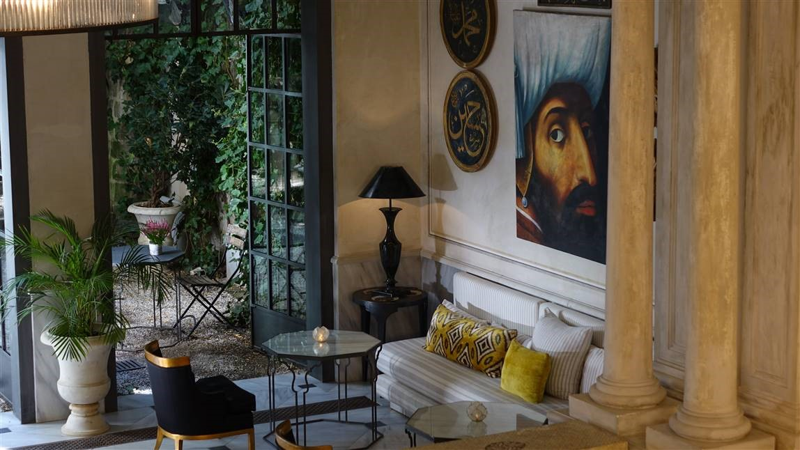 Hazz Istanbul, A quirky five-bedroom bijou gem tucked anonymously away