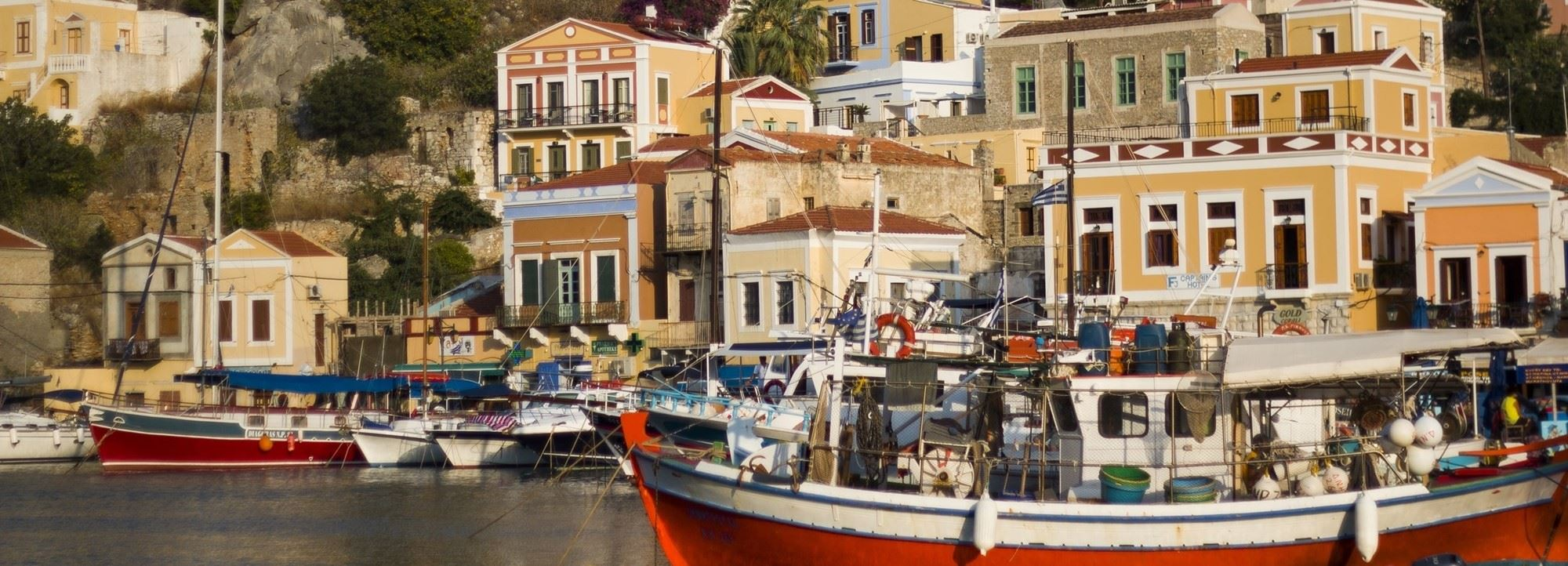 The Old Markets, Symi , A bijou boutique hotel overlooking the picturesque harbour