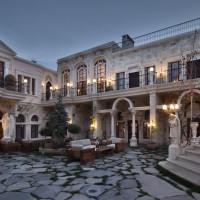 sacred house hotel courtyard cappadocia